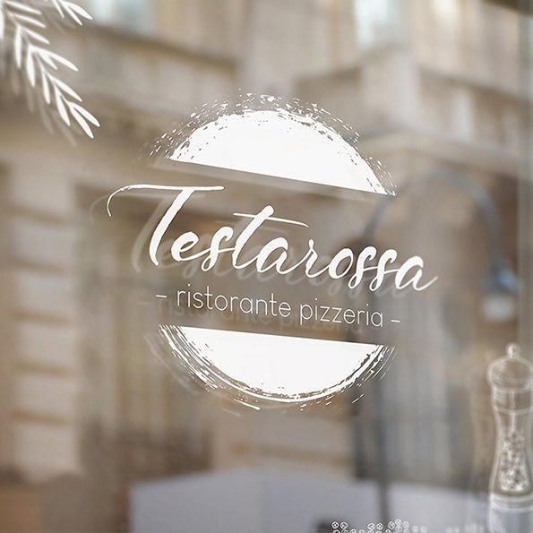 Logo Design, Grafik für Ristorante Testarossa
