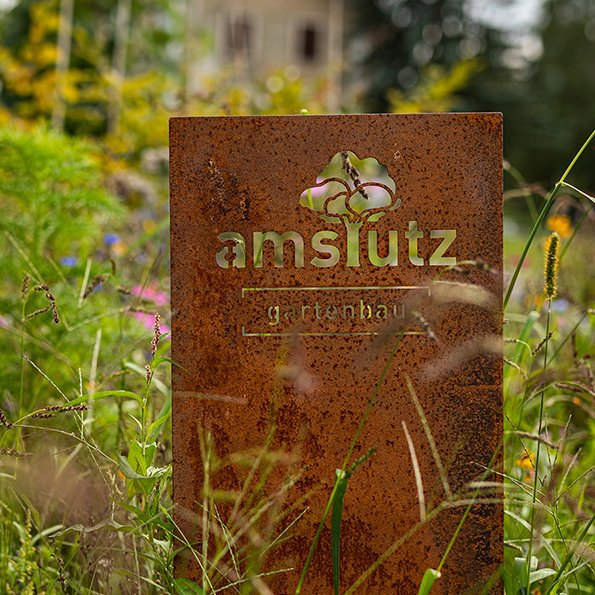 Bildwelt Amstutz Gartenbau AG und Logodesign