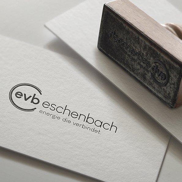Logodesign und Corporate Design für EVB Eschenbach