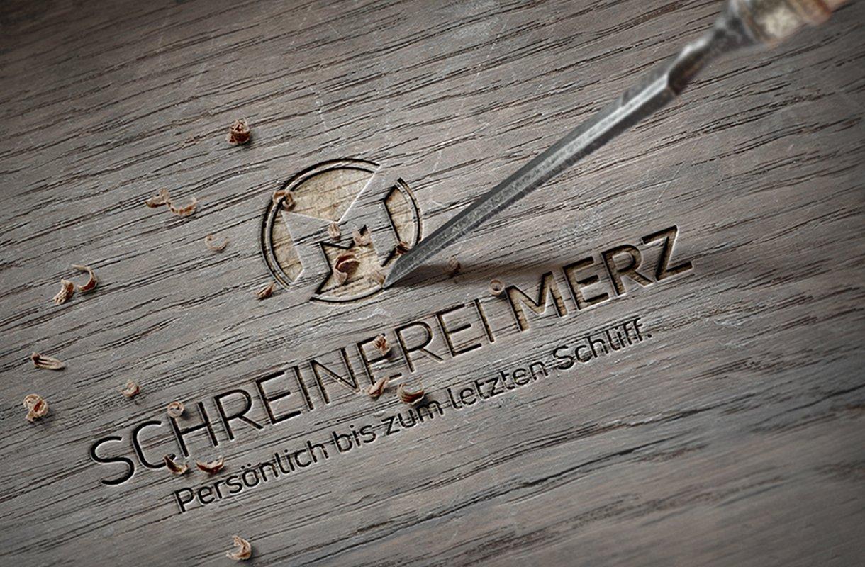 Logodesign für Schreinerei Merz GmbH