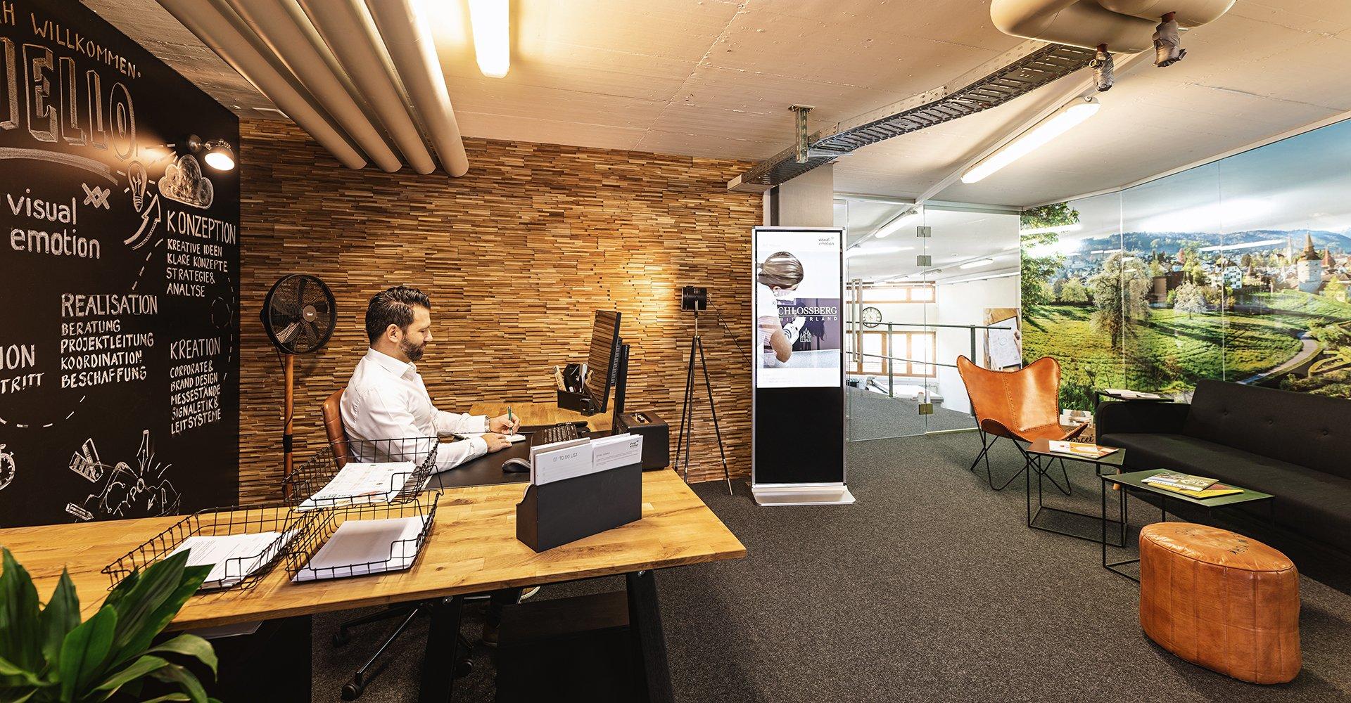 Visual Emotion GmbH, Büro